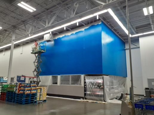 Interior Commercial Painting in Utah County
